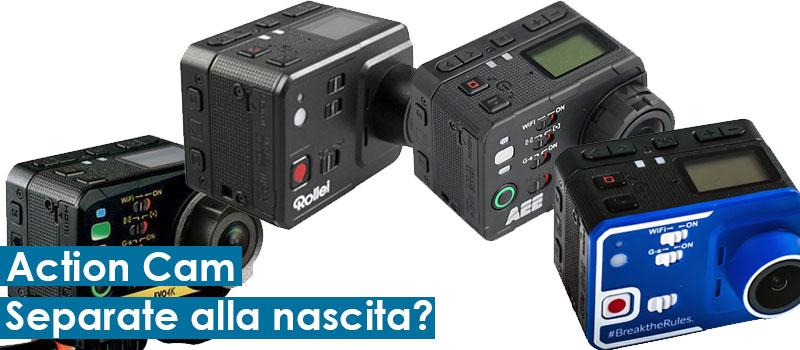 Nilox Evo 4K, Stonex Cam, Rollei 6S, AEE S70 MagiCam 4 action cam separate alla nascita