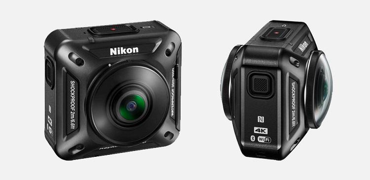 Nikon presenta KeyMission 360, la nuova action camera con panoramica a 360°, ecco la scheda tecnica