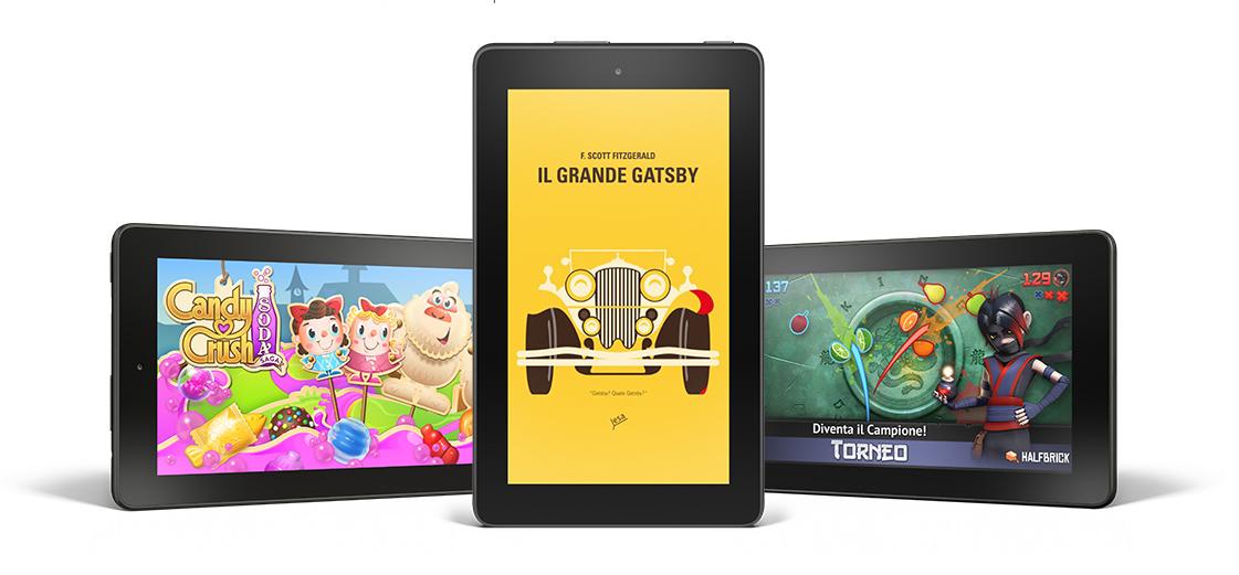 Amazon Fire, cambiano le regole per i tablet sotto i 60€