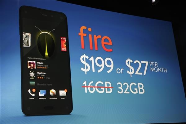 Amazon parla del fallimento del Fire Phone