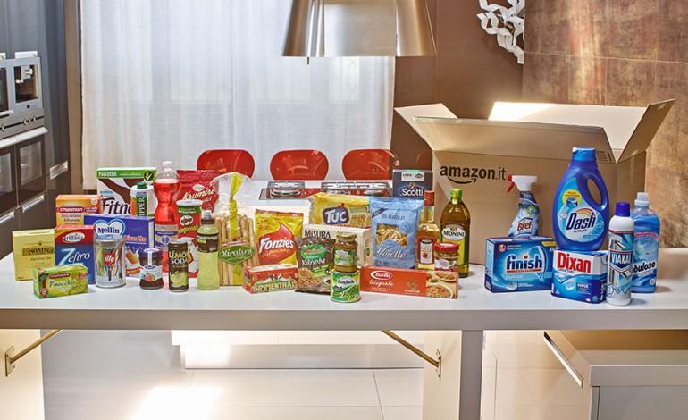 Amazon Italia apre il negozio alimentare, il supermercato ora è online