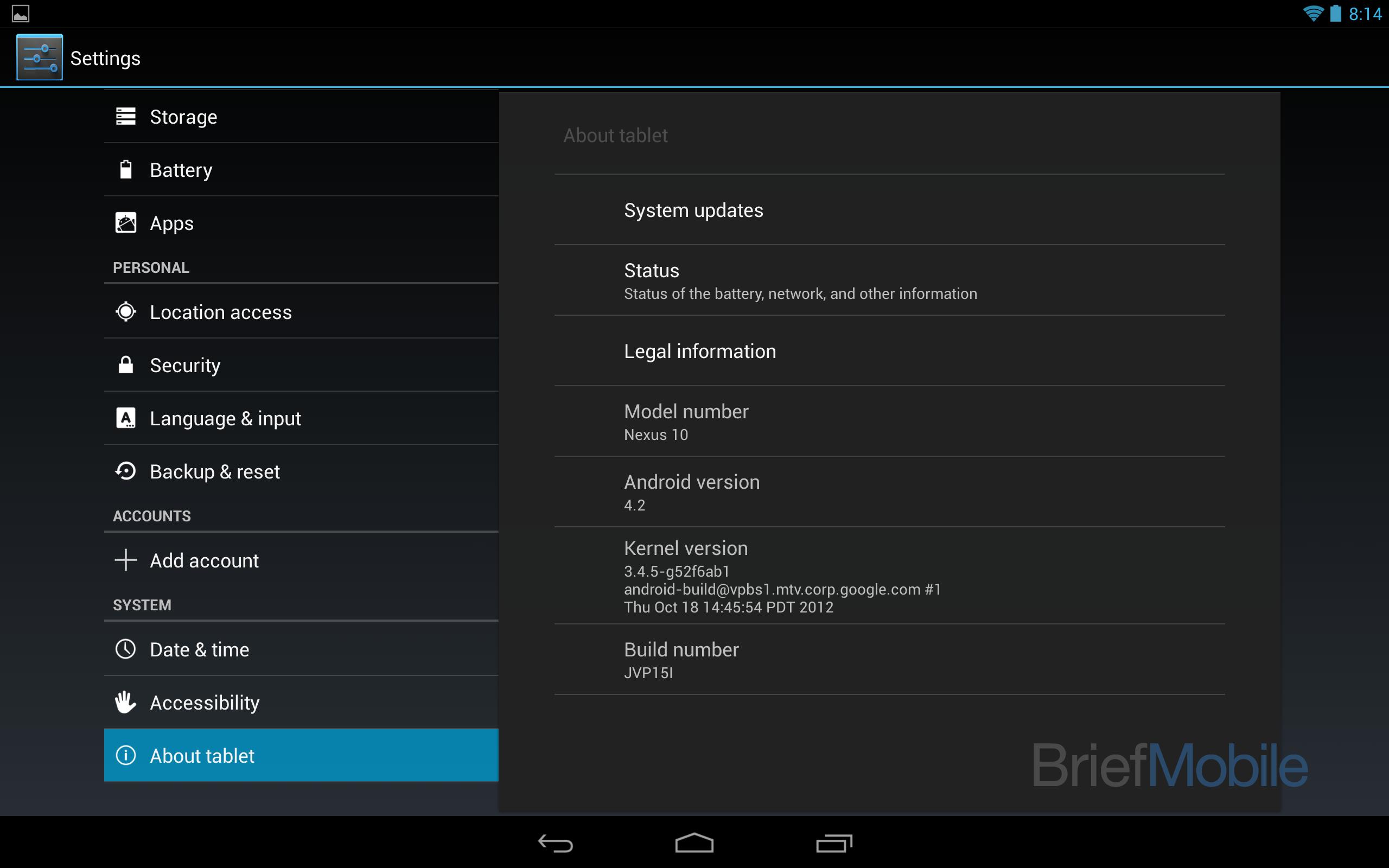 Android 4.2 svelate alcune immagini del nuovo sistema operativo di Google