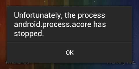 Il processo android.process.acore si è interrotto, come risolverlo, guida e Fix