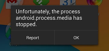 How to Fix: Unfortunately, the process android.process.media has stopped