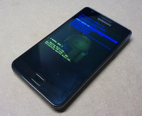 Galaxy S II - Recovery Mode