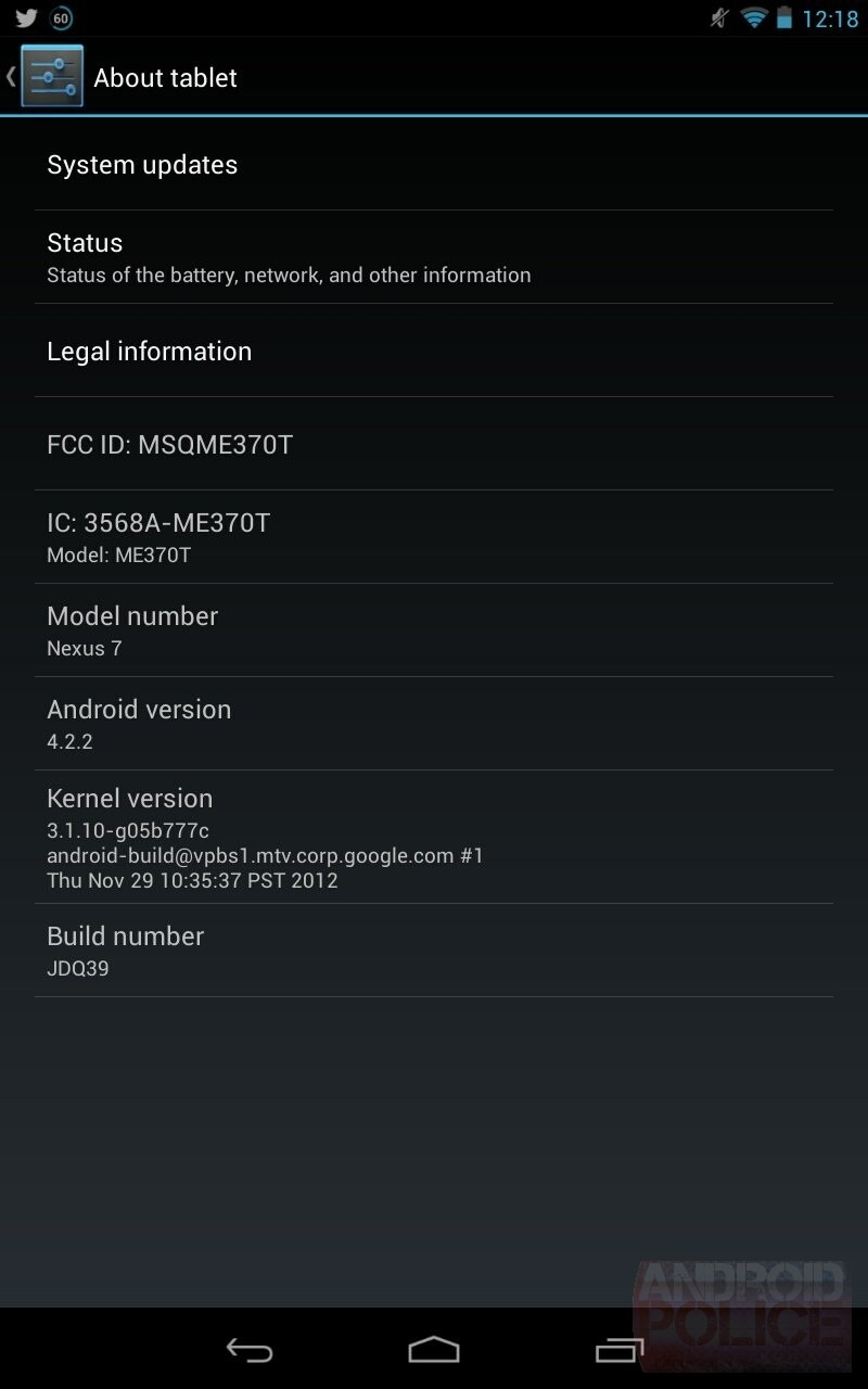 Rilasciato Android 4.2.2 per la gamma Nexus