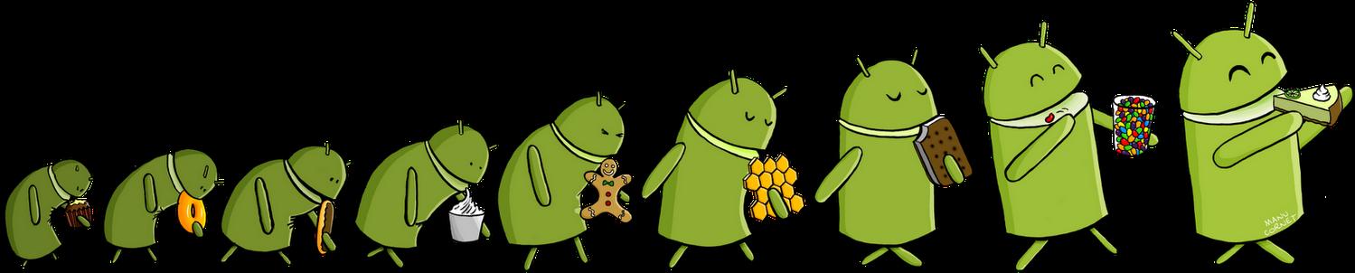 Una vignetta di un dipendente Google allude ad Android Key Lime Pie come prossima versione