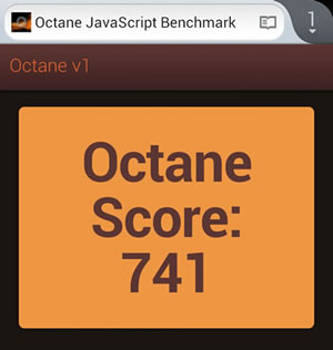 Benchmark Octane Firefozìx