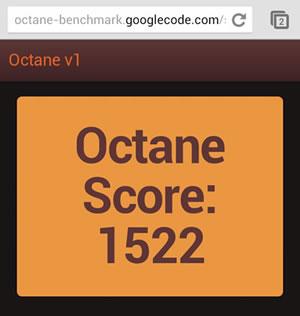 Benchmark Octane Chrome
