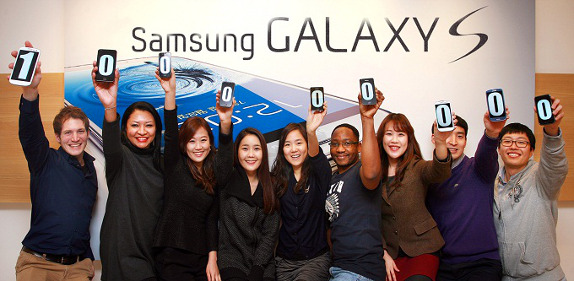 La serie Samsung Galaxy S supera i 100 milioni di dispositivi venduti