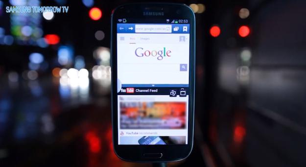 Galaxy S3, Samsung mostra le novità dell'ultimo aggiornamento con un video