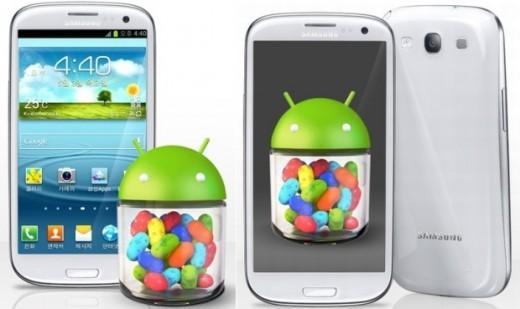 Samsung Galaxy S3, finalmente Android Jelly Bean anche per i brandizzati H3G (Tre)