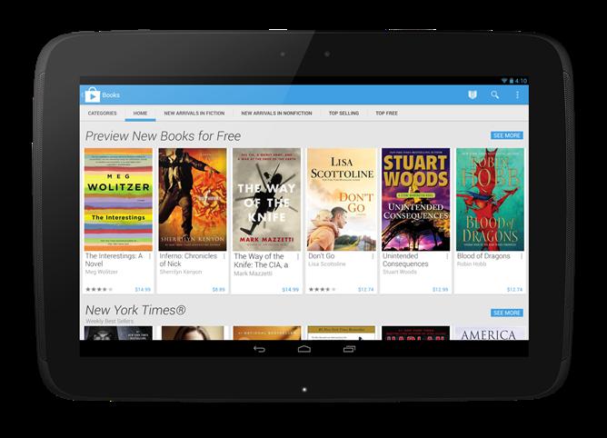 Google Play Store 4.0 disponibile già da oggi
