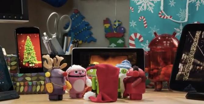Buone feste da Android! Un nuovo video promo di Google per le feste natalizie
