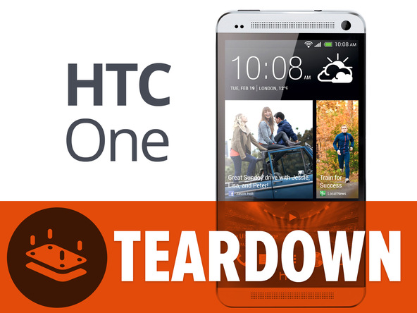 HTC One, iFixit lo smonta e lo valuta 1 in riparabilità