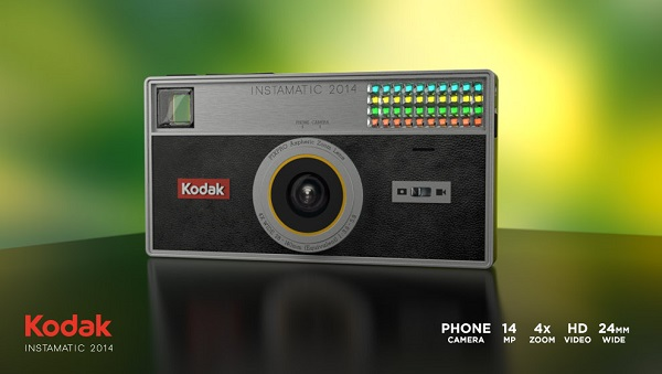 Kodak Istamatic 2014, una macchina fotografica vestita da smartphone Android