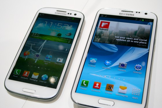 Samsung Galaxy S3 e Galaxy Note 2 riceveranno Android 4.2 entro marzo 2013