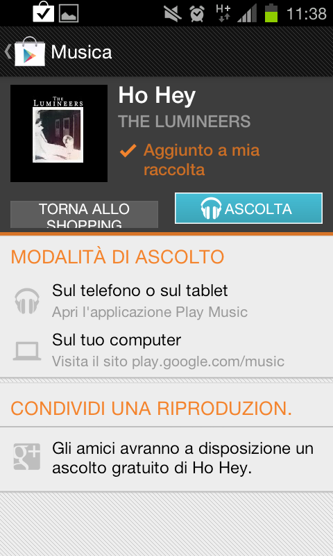 Scaricare brani Gratis da Google Play Music