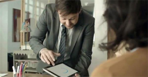 I tablet non servono a tutto... lo dice un simpatico spot