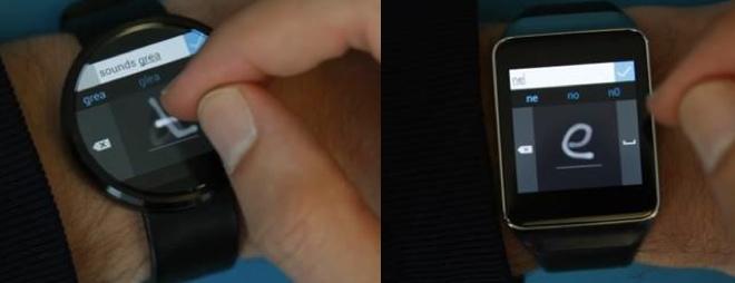 Una tastiera per Android Wear? La sviluppa Microsoft