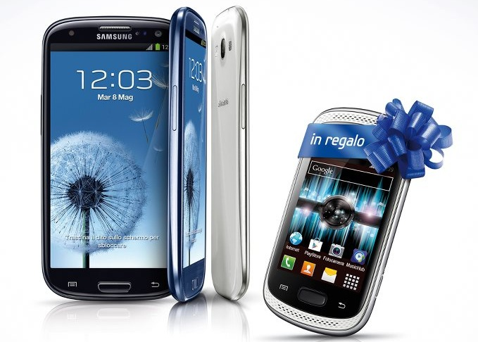 Samsung Galaxy Music in regalo con l'aquisto di un Galaxy S3