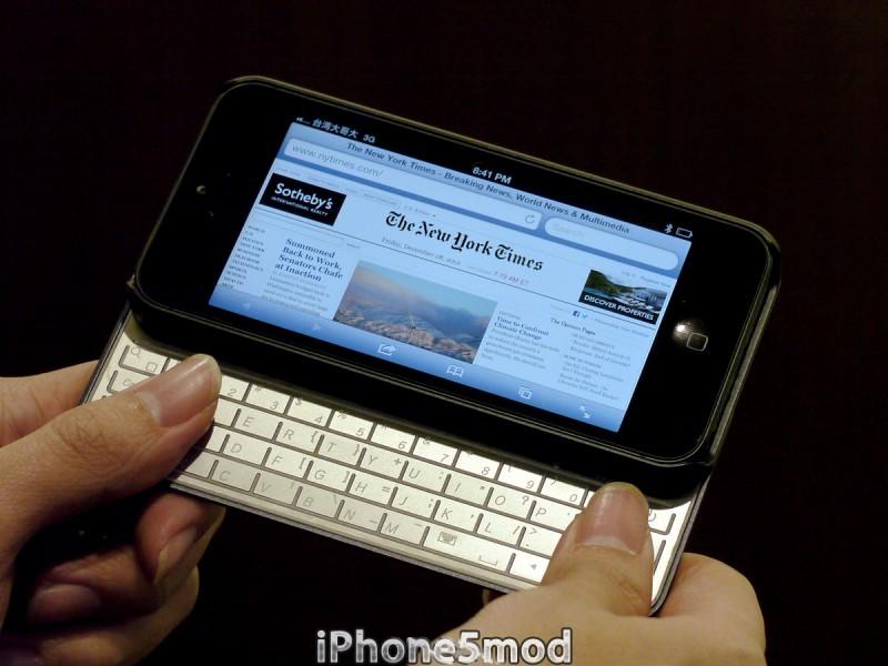 iPhone5mod lancia una tastiera/gamepad magnetica per iPhone 5 spessa solo 2 millimetri