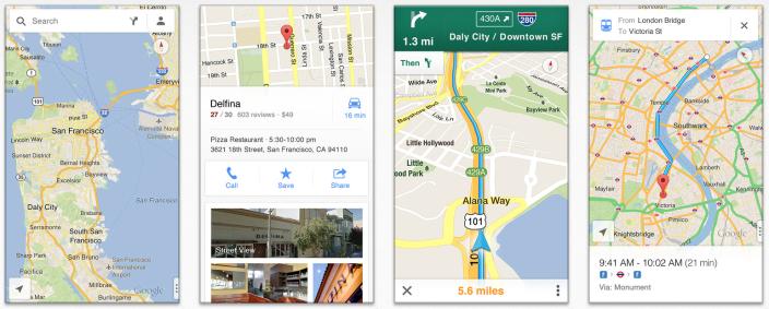 Google rilascia l'app ufficiale di Google Maps per iPhone