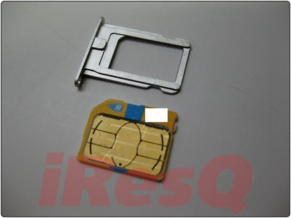 iPhone 5 confronto tra nano-sim e micro-sim