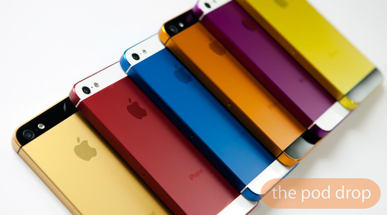 Scocche colorate per il tuo iPhone 5 con AnoStyle