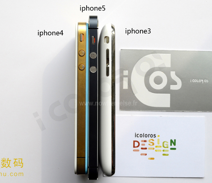 Confronto tra iPhone 5, iPhone 4S e iPhone 3G