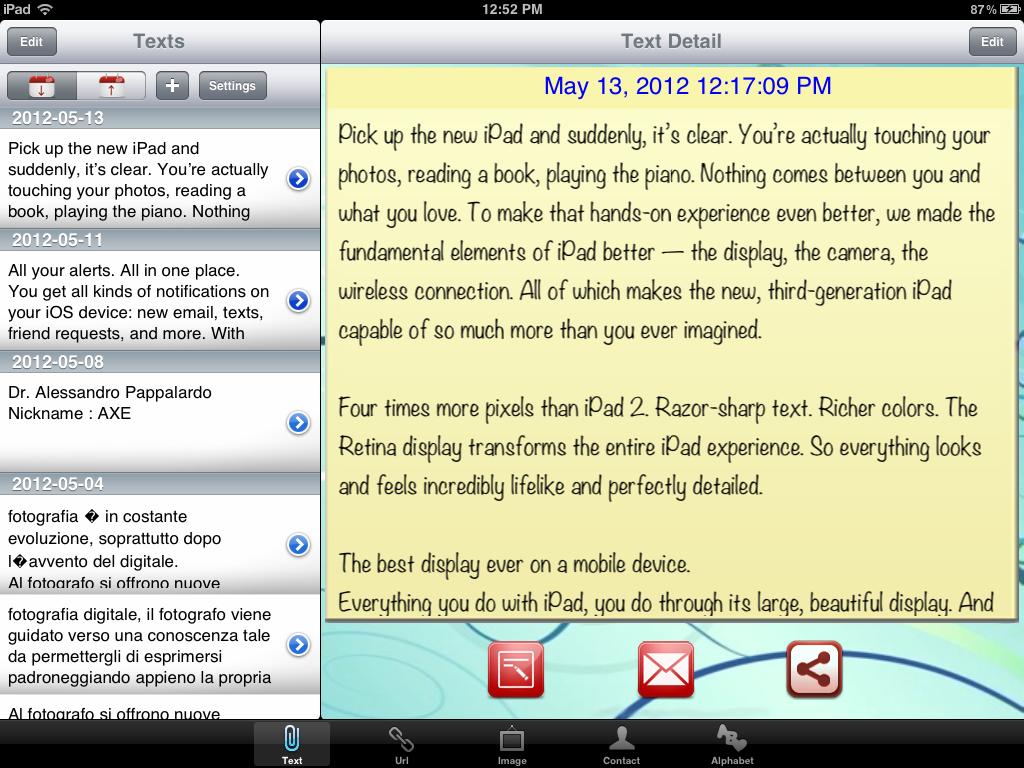 Clipboard Manager and History, un ottimo gestore di appunti per iOS