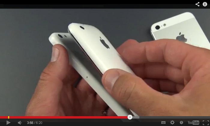 iPhone low-cost in plastica, video confronto con i vecchi modelli
