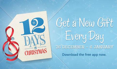 iTunes, 12 giorni di regali per il natale 2012