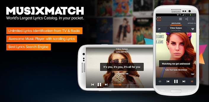 musiXmatch, un player audio alternativo con qualcosa in più