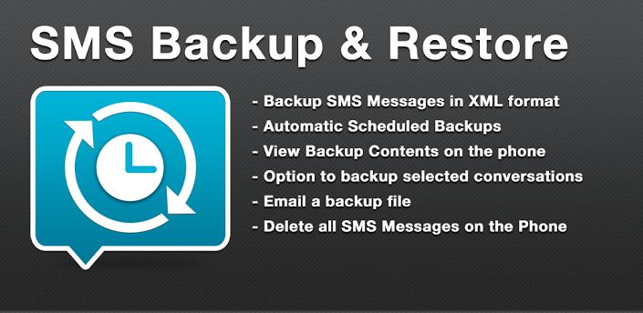 SMS Backup & Restore, salva e rispristina i tuoi SMS