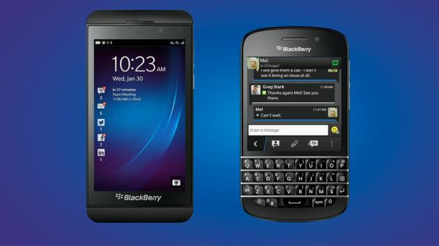 BlackBerry, presentati ufficialmente i nuovissimi Z10 e Q10