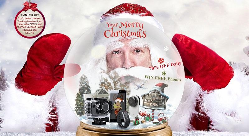 Grandi sconti di Natale su GearBest