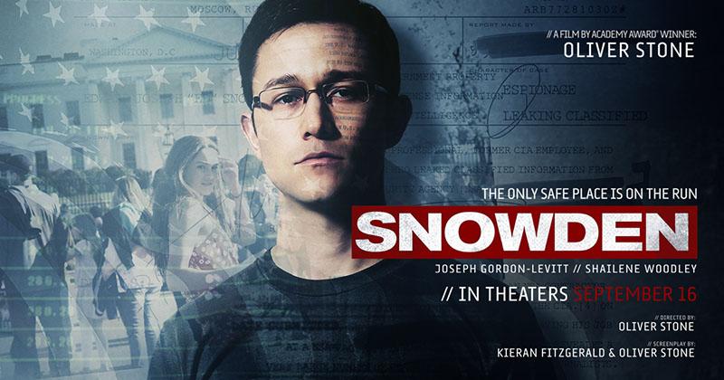 Snowden (2016) Il racconto sul cyberspionaggio
