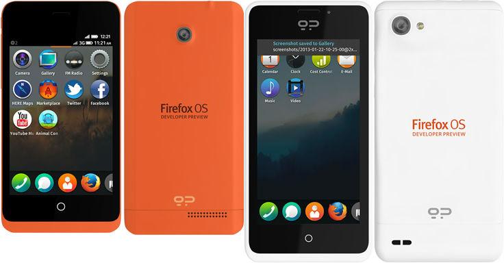 Firefox OS, gli smartphone ufficiali in vendita dalla prossima settimana