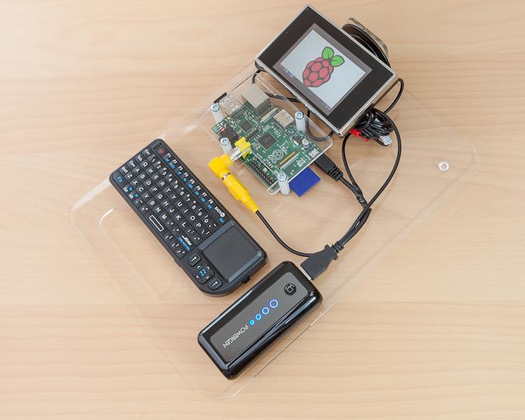 Un pc portatile realizzato con Raspberry Pi