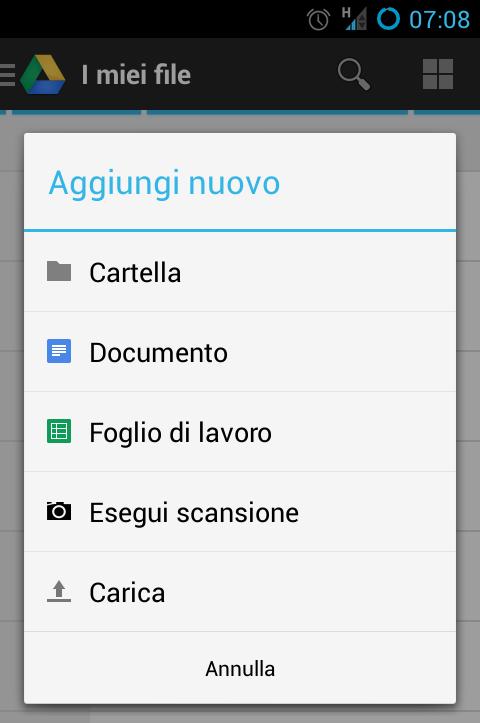 Google Drive, scansionare documenti e caricarli automaticamente sul cloud