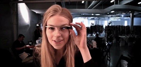 Google Glass la settimana della moda di New York raccontata con gli occhiali di Big G