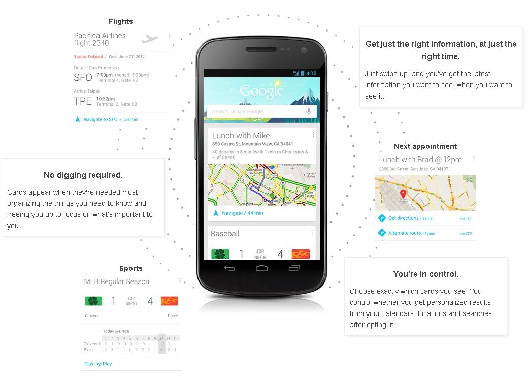 Arriva Google Now, il vostro assistente personale