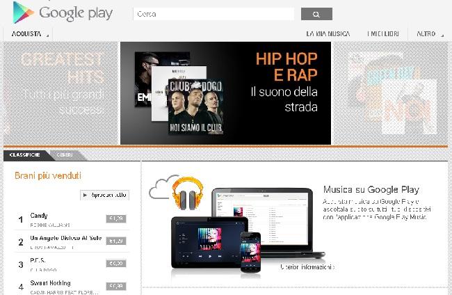 Google Play Music sbarca in Italia, scopriamo insieme le novità