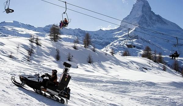 Google Street View in discesa sulle piste dell'Alpe di Siusi