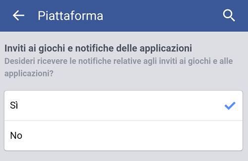 Come bloccare gli inviti ai giochi Facebook