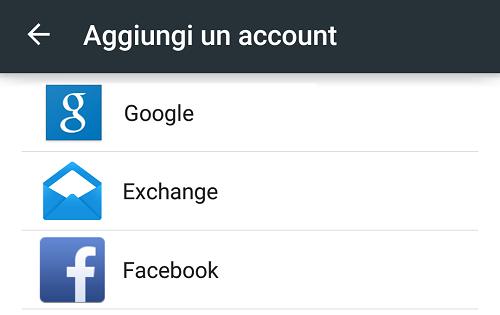 Come aggiungere o creare un account Google su Android