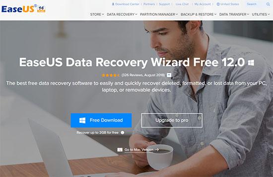 Recuperare i file persi, cancellati o formattati con EaseUS Data Recovery Wizard Free 12.0 - Guida e Recensione