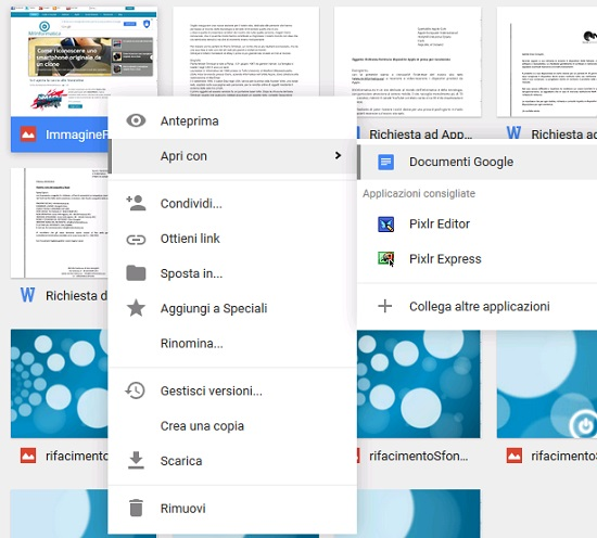 Come eseguire una scansione OCR on-line con Google Drive