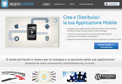 Creare applicazioni con Apps Builder